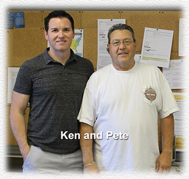 Ken and Pete